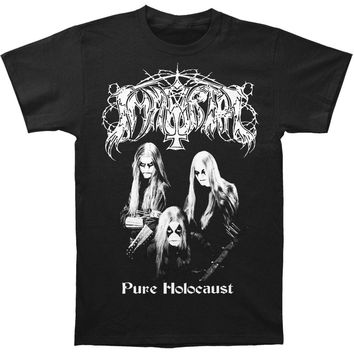 Immortal Men's  Pure Holocaust T-shirt Black Rockabilia