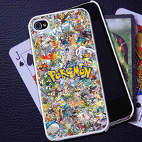 All Pokemon Character Collage -  iPhone 6, iPhone 6+, samsung note 4, samsung note 3,iPhone 5C Case, iPhone 5/5S Case, iPhone 4/4S Case, Durable Hard Case