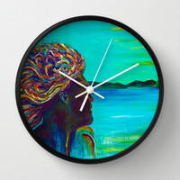 El Capitan Wall Clock by Sophia Buddenhagen