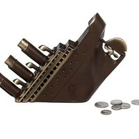 TITANIC BANK | Bronze Sinking Ship Replica Coin Savings Bank | UncommonGoods