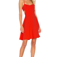 "Susana Monaco Jane 16"" Dress in Neon Flame 