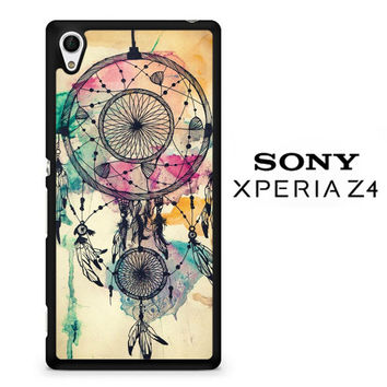 Water color dream catcher  X0189 Sony Xperia Z4 Case