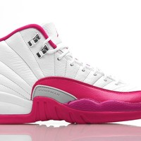 WOMENS AIR JORDAN 12 (DYNAMIC / VIVID PINK)
