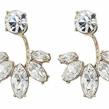 Marchesa Crystal Floater Earrings