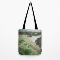 East cost of Scotland Tote Bag by Errne