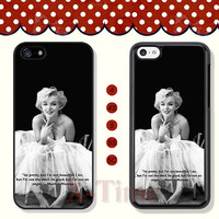 Marilyn Monroe, iPhone 5 case iPhone 5c case iPhone 5s case iPhone 4 case iPhone 4s case, Samsung Galaxy S3 \S4 Case, Phone case --X50644