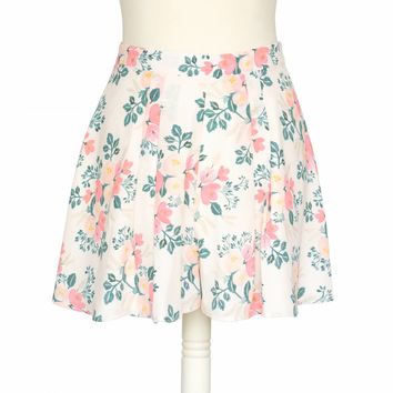 Daffodil Shorts Peach Blossom by RIFLE PAPER Co.   Imported