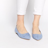 Oasis Dorsay Flat Pointed Shoes