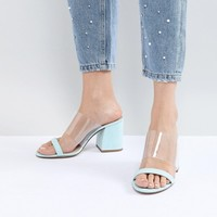 ASOS DESIGN Honey Mules at asos.com