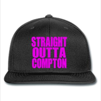 STRAIGHT OUTTA COMPTON  - Snapback Hat