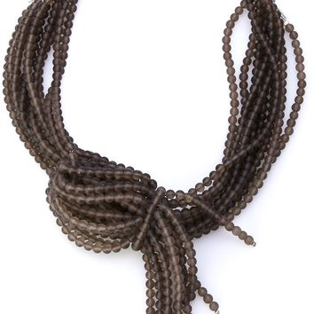 Brunello Cucinelli multi strand necklace