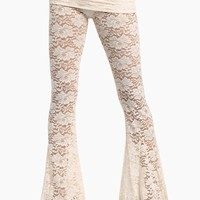 Blow Ur Horn Lace Pant - Walking On Eggshells