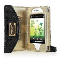 MICHAEL Michael Kors Wallet Clutch for iPhone 4/4S - Black Python - Apple Store (U.S.)