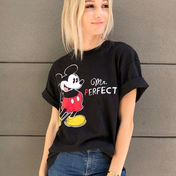Mr. Perfect Mickey Tee