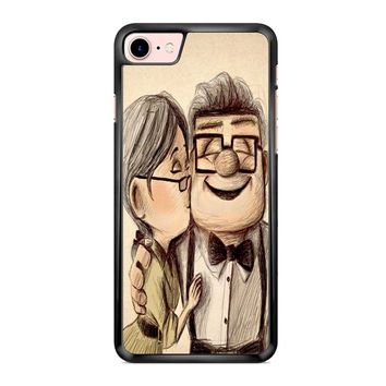 Up Disney Pixar Carl And Ellie iPhone 7 Case