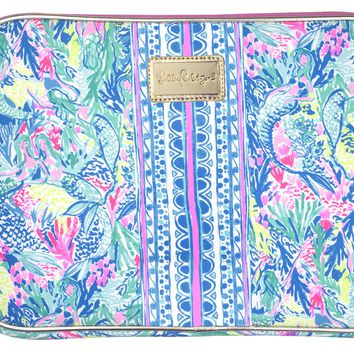 Lilly Pulitzer Tech Sleeve Fits up to 13 inch Laptop | Mermaid Cove
