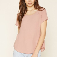 Curved-Hem Top | Forever 21 - 2000178580