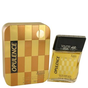 Lamis Opulence by Lamis Eau De Toilette Spray Deluxe Limited Edition 3.3 oz