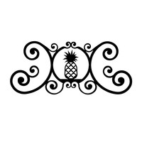 Pineapple - Over Door Plaque