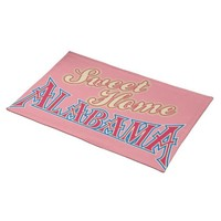 Alabama is Home Cloth Place Mat