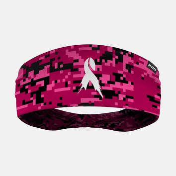 Sleefs BCA Pink Ribbon Digital camo pink black Headband