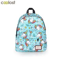 Cartoon Animal Unicorn Panda Backpack For Teenage Girls Children School Bags Kids Bookbag Cute Rainbow Horse School Backpack Bag