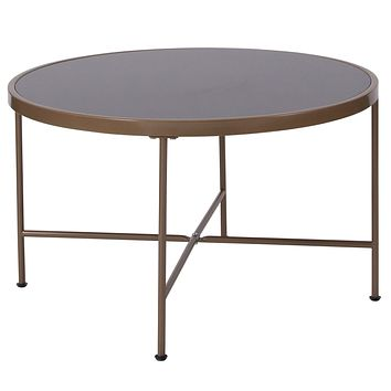 Chelsea Collection Coffee Table with Metal Frame