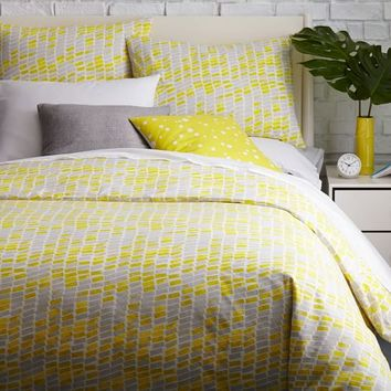 Kate Spade Saturday Building Blocks Duvet Cover + Shams - Northern Sun