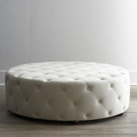 Bevin Tufted Ottoman