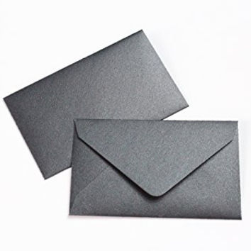 Wedding Favor 25 Mini Envelopes Metallic Black $1 State Lottery Tickets Scratch Off Game Gift Cards