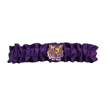 LSU Tigers NCAA Dainty Satin Garter (Purple)