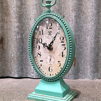 Metal Table Clock | zulily