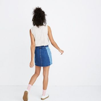 Pieced Beverly Jean Skirt