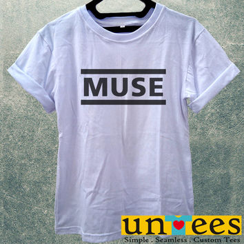 Low Price Women's Adult T-Shirt - Muse Band Logo design