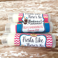 Cancun Bachelorette Party Favors - Mexico Chapstick - Wedding Party Favors - Bridal Party Favor - Custom Lip Balm - Hangover Kit - Bride