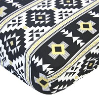 Main in Black Aztec - Crib Sheet