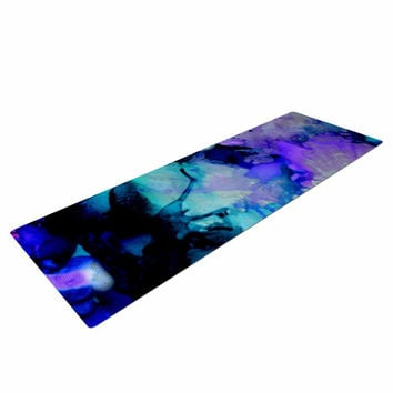 "Claire Day ""Lakia"" Blue Purple Yoga Mat"