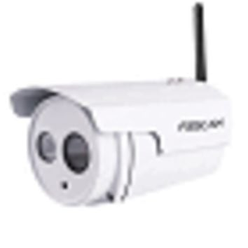 Foscam FI9803P V2 Outdoor Waterproof 720P Wireless Day/Night IP Camera w/36 IR LEDs (White)