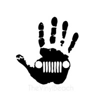 Jeep Wave Decal - Jeep Decal