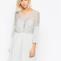 Vero Moda Lace Detail Skater Dress