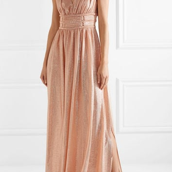 Rachel Zoe - Madison metallic knitted maxi dress