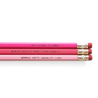 Feminism Set of Pencils