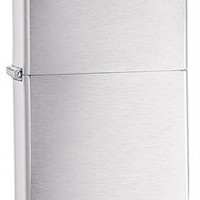 Zippo Classic Lighters Brushed Chrome