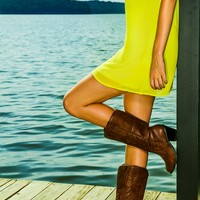 Jesse Jane Boots-Cognac - What's New