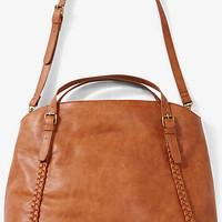 Braided Trim Hobo Bag from EXPRESS