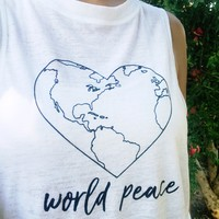 World Peace Muscle Tank and Tee