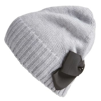 kate spade new york bow beanie | Nordstrom