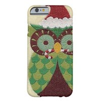 "IPhone 6/6S Case ""Christmas Owl"" Barely There iPhone 6 Case"