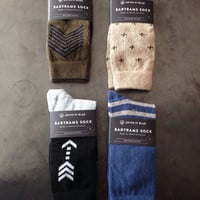 """Recycled Cotton """"Bartrams"""" Socks"""