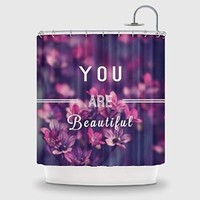VogueLine You are beautiful Designs Shower Curtain Printed Handmade Home & Living Bathroom -70*70